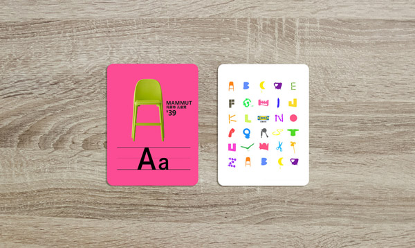 IKEA – ALPHABET CARD