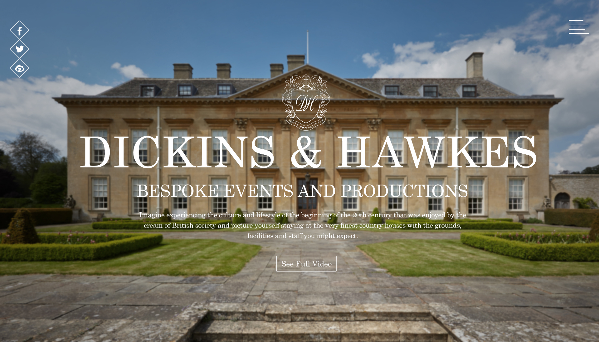 Dickins & Hawkes WEBSITE